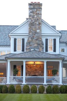 house exteriors featuring stone - Stone Farmhouse Exteriors