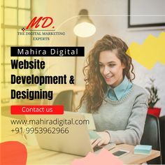 Standing in today's time, the website is the basic necessity to solidify your business. Every brand needs an online presence to flourish and reach maximum customers. Mahira Digital is at your service if you are worried about getting your hands on the best web development company in India. Best Web Development Company, Website Design Services, Flourish, Digital Marketing, Hands, India, Business, Goa India, Store