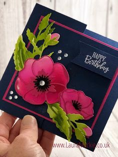Stampin' Up! Demonstrator, Card making Poppy Cards, Handmade Stamps, Floral Theme, Stamp Making, Blog, Flower Cards, Scrapbook Cards, Homemade Cards, Stampin Up Cards