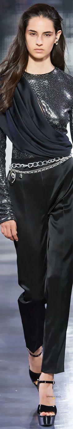 Azzaro Spring 2020 Couture All Fashion, Fashion Pants, Couture Fashion, Fashion Trends, Azzaro, Spring Couture, Glamour, Stylish Outfits, Balmain