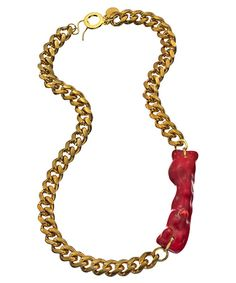 Holy Harlot Pelex Coral Necklace