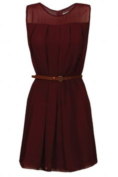 A perfect fall dress. Love this color! what-a-strange-power-there-is-in-clothing