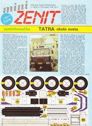 Různé modely Tatry 815 GTC a hračky   Tatra Kolem Světa 1987-90 - Tatra 815 GTC Monopoly
