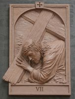 Fourteen Stations of the Cross Sculpture,Catholic Art,Koh-Varilla Guild Chicago