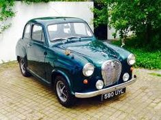 Austin A35 - a lovely car. I put an A40 engine in it  which helped the performance.