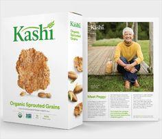 Kashi Unveils New Logo and Packaging - Logo Designer