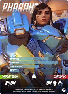 Overwatch - Pharah Hero Profile