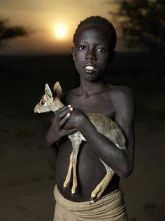 Senega.......a boy and his pet.