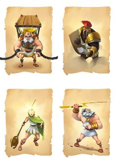 CHRONOS CONQUEST by Biboun - Fossard Christophe, via Behance