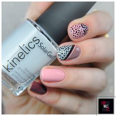- Color Block Nail Art -