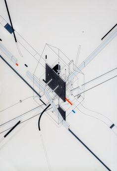 AXO_Fantastic Architecture: Illustrations By Bruna Canepa,© Bruna Canepa