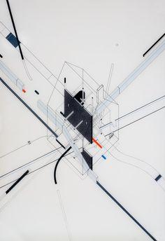 Fantastic Architecture: Illustrations By Bruna Canepa,© Bruna Canepa