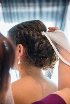 Brautstyling, Hochsteckfrisur, Make-Up, Franziska Reise, Franziska Reise Hair & Make-Up, Hair & Make-Up, Stuttgart, Braut Make-Up, Schleier, Brautkleid, Hochzeit