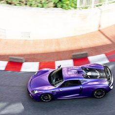 Purple Porsche 918 Spyder in Monaco  #CarsRevealed  _____________________________________________  Follow @carsrevealed  _____________________________________________  pic by @aaltomotive  | #Porsche #918 #Spyder #918Spyder #Porsche918 #Weissach #Monaco #ItsWhiteNoise #hypercar #lovecars #blacklist #DuPontRegistry #carporn #carsofig #CarsRevealed #CarLifestyle #supercar #autogespot