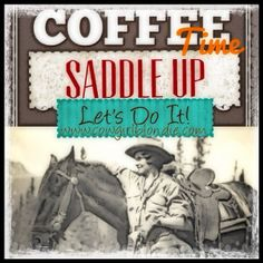 SADDLE UP FOR COFFEE