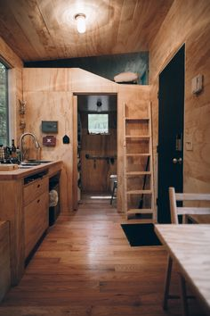 "This is The Pine Lodge in the woods of New York, another Getaway Cabin where you can enjoy an unplugged ""anti-vacation."" I love this one because you could go with friends — it has…"