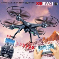 X5SW-1 6-Axis Gyro 2.4G 4CH Real-time Images Return RC FPV Quadcopter drone (scheduled via http://www.tailwindapp.com?utm_source=pinterest&utm_medium=twpin)