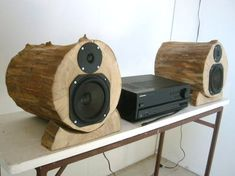 How To: Build DIY Wooden Speakers from a Salvaged Tree
