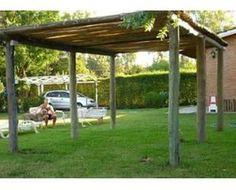 Pergolas/garages/galerias En Kit $ 99 M2 Rustico,cañas,palos (PILAR,Bs As., Bs.As. Zona Interior)   Guía Más