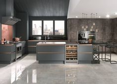 View our Milano Contour Kitchen in Castle Rock - Create the fitted kitchen of your dreams with Wren Kitchens. Copper And Grey Kitchen, Rose Gold Kitchen, Wren Kitchen, Country Kitchen, Kitchen Units, Open Plan Kitchen, Kitchen Interior, Kitchen Decor, Kitchen Ideas