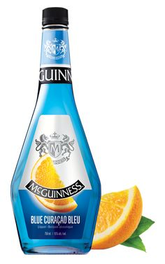 With its wild neon blue colour, McGuinness® Blue Curaçao is crafted to enhance the visual appeal of any drink. The flavour is a natural orange, well-balanced sweetness, with the aroma of orange rinds. Bring on the drink umbrellas! Curacao Azul, Blue Curacao Liqueur, Cocktail Recipes, Cocktails, Drinks, What To Make, Bottle Design, Guinness, Make It Yourself