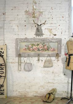 Painted Cottage Chic Shabby Romantic Rose by paintedcottages