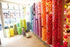 La Case de Cousin Paul - a make- your-own light strand store...so fun!