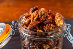 Find healthy food, delicious recipes, nutrition news, and wellness tips at Clean Plates, plus great new food products and restaurants for clean eating. Spicy Nuts, Rosemary Recipes, Clean Eating, Healthy Eating, Eating Well, Walnut Recipes, Roasted Pecans, Healthy Snacks For Adults, Nutrition