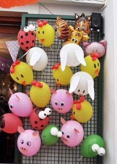 Las más lindas ideas de la granja de Zenón 1st Birthday Decorations, 2nd Birthday Parties, Balloon Decorations, Birthday Games, Cow Birthday, Farm Animal Birthday, Japanese Birthday, Simple Birthday Cards, Classroom Art Projects