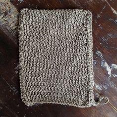 flw - linen body wash cloth