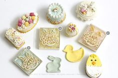 2017, Miniature Happy Easter Bunny♡ ♡ By Petit D'licious