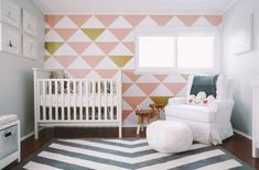 25 Creative and Modern Nursery Design Ideas via Brit + Co.