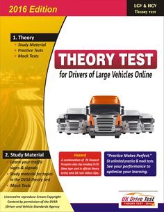 Whether you are learning to drive a Bus, Coach or a Lorry, we have all the material you need to study for your theory test. You can use our all in one platform to study, revise, practice and test for the multiple choice and hazard perception theory tests.