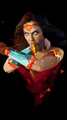 best Ideas for wall paper marvel digital art Comic Book Characters, Comic Character, Comic Books Art, Comic Art, Wonder Woman Art, Wonder Women, Super Heroine, Univers Dc, Marvel Dc Comics