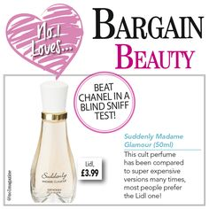 We still cannot believe this perfume is only £3.99 from Lidl. #no1magazine #scotland #lidl #perfume #bargainbeauty