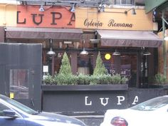 Lupa Osteria Romana-Mario Batali-NYC Greenwich Village