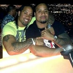 Jey and Jimmy Uso - I think I'm going to have to start watching wrestling!!!!