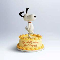 Hallmark Figurine: Happy Snoopy Figurine