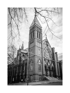 St. Dominic's Church, Portland, Maine taken 4/5/2014.  My sister and I went to school here  are kids.  Printed this image on canvas for her as a birthday gift.    Taken with my Canon 20D.  Edited in Lightroom and Photoshop CC.  Had tons of fun staying up until 3 AM and playing with this one!  :)