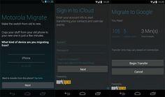 Motorola Migrate ahora soporta iCloud para transferir los contactos y calendarios del iPhone http://www.xatakandroid.com/p/106036