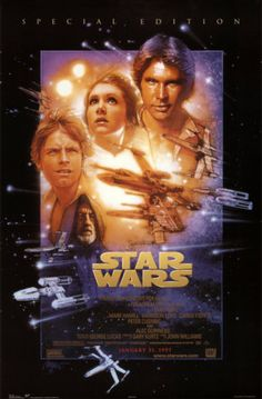 A fantastic Star Wars Episode IV: A New Hope movie poster! Be a good Jedi and check out the rest of our awesome selection of Star Wars posters! Need Poster Mo Star Wars Film, Star Wars Poster, Star Wars Episódio Iv, Star Wars Watch, Star Wars Art, Star Wars Episode 4, Episode Iv, Star Ears, Star Wars Identities