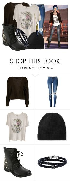 """Chloe Price (Life is Strange)"" by princessmikyrah ❤ liked on Polyvore featuring Boohoo, WithChic, Alexander McQueen, Madeleine Thompson, Hot Topic, Phillip Gavriel and Zara Taylor"