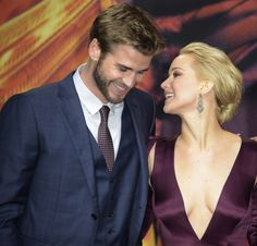 Jennifer Lawrence basically admits that she & Liam Hemsworth have hooked up
