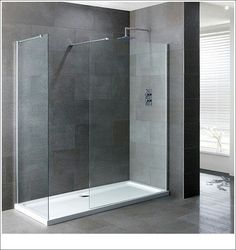 Shower with base