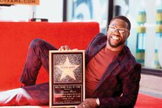 Kevin Hart received his star Oct. 10