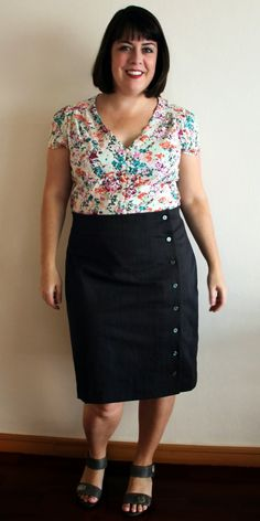 Cookin' & Craftin': Tilly and the Buttons Arielle Skirt
