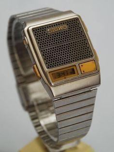 562aeb07656 SEIKO Digital LCD talking watch