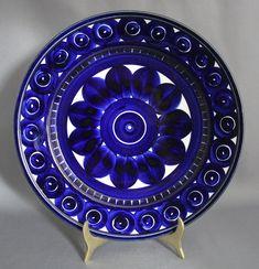 Marimekko, Kitchen Accessories, Metallica, Finland, Kitchen Design, Decorative Plates, Valencia, Blue And White, Pottery