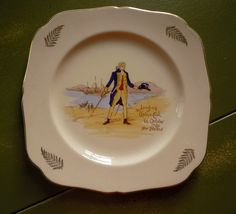 Captain Cook plate