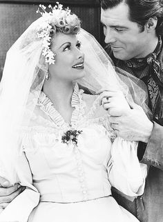 Lucille Ball And James Craig In Valley Of The Sun 1942